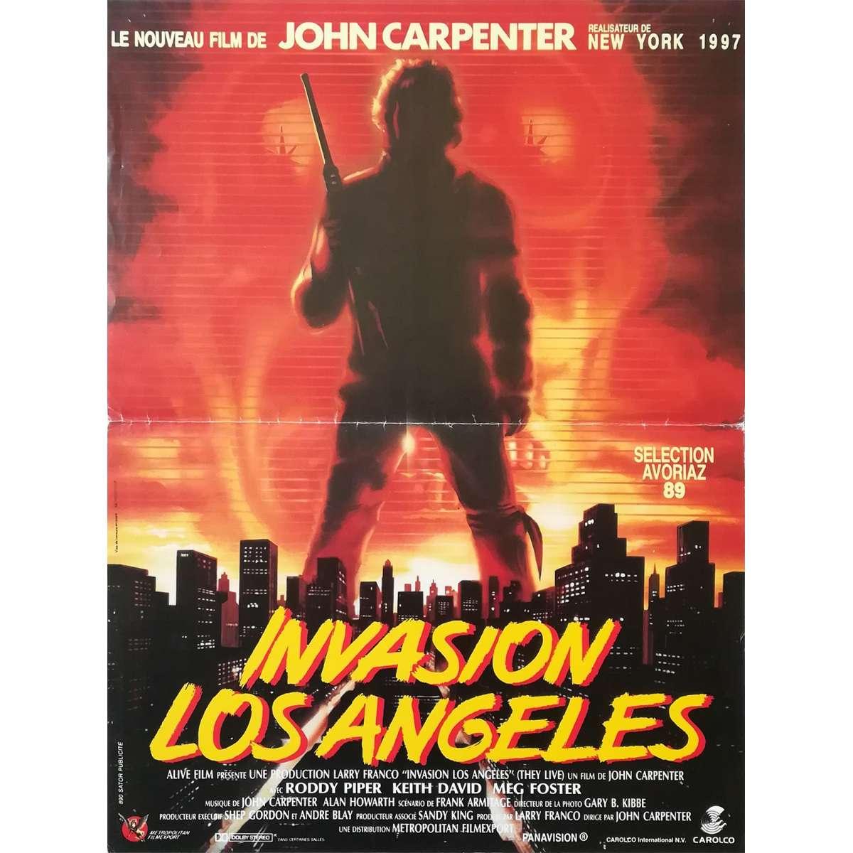 Movie Cinema Poster Art Print Roddy Piper THEY LIVE 1988 John Carpenter
