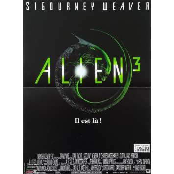 ALIEN 3 Original Movie Poster - 15x21 in. - 1992 - David Fincher, Sigourney Weaver