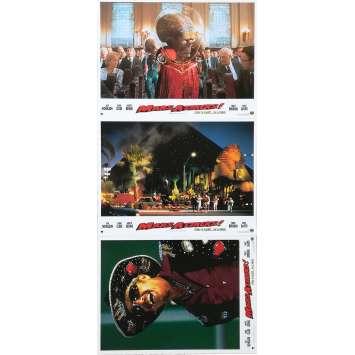 MARS ATTACKS Photos de film x3 - 21x30 cm. - 1996 - Jack Nicholson, Tim Burton