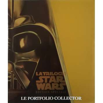 STAR WARS TRILOGY Original Pressbook 8p - 9x12 in. - 1997 - George Lucas, Harrison Ford, Carrie Fisher