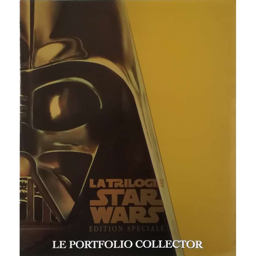 STAR WARS TRILOGIE Portfolio 8p - 21x30 cm. - 1997 - Harrison Ford, Carrie Fisher, George Lucas