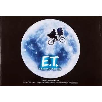 E.T. THE EXTRA-TERRESTRIAL Original Pressbook 32p - 9x12 in. - R2000 - Steven Spielberg, Dee Wallace