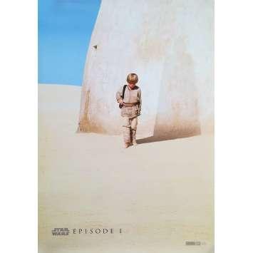 STAR WARS - THE PHANTOM MENACE Original Movie Poster Teaser - 27x40 in. - 1999 - George Lucas, Ewan McGregor