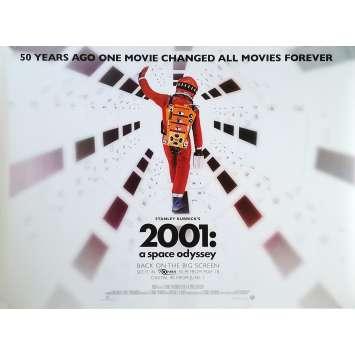 2001 L'ODYSSEE DE L'ESPACE Affiche de film Nolan - 76x102 cm. - R2010 - Keir Dullea, Stanley Kubrick