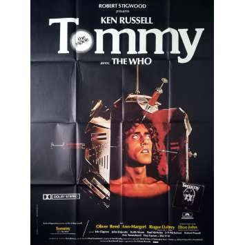 TOMMY Affiche de film - 120x160 cm. - 1975 - The Who, Ken Russel