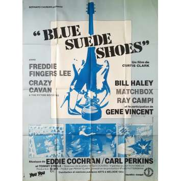 BLUE SUEDE SHOES Affiche de film - 120x160 cm. - 1980 - Bill Haley, Curtis Clark