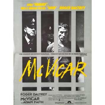 MCVICAR Affiche de film - 40x60 cm. - 1980 - Roger Daltrey, Tom Claig