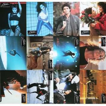 FLASHDANCE Original Lobby Cards x12 - 9x12 in. - 1983 - Adrian Lyne, Jennifer Beals