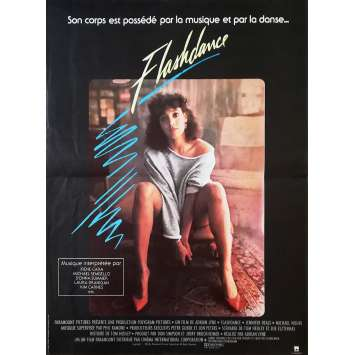 FLASHDANCE Affiche de film - 40x60 cm. - 1983 - Jennifer Beals, Adrian Lyne