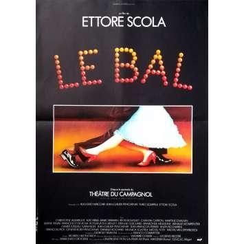 LE BAL Affiche de film - 40x60 cm. - 1983 - Etienne Guichard, Ettore Scola