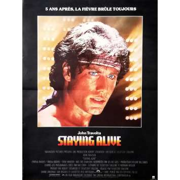 STAYING ALIVE Affiche de film - 60x160 cm. - 1983 - John Travolta, Sylvester Stallone
