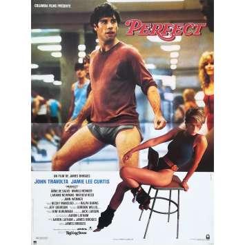 PERFECT Affiche de film - 40x60 cm. - 1985 - Jamie Lee Curtis, John Travolta, James Bridges