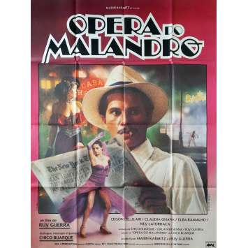 OPERA DO MALANDRO Affiche de film - 120x160 cm. - 1986 - Chico Buarque, Ruy Guerra