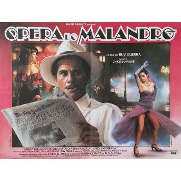 OPERA DO MALANDRO Affiche de film - 40x60 cm. - 1986 - Chico Buarque, Ruy Guerra
