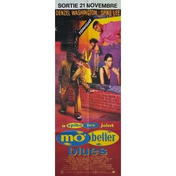 MO BETTER BLUES Affiche de film - 60x160 cm. - 1990 - Denzel Washington, Spike Lee