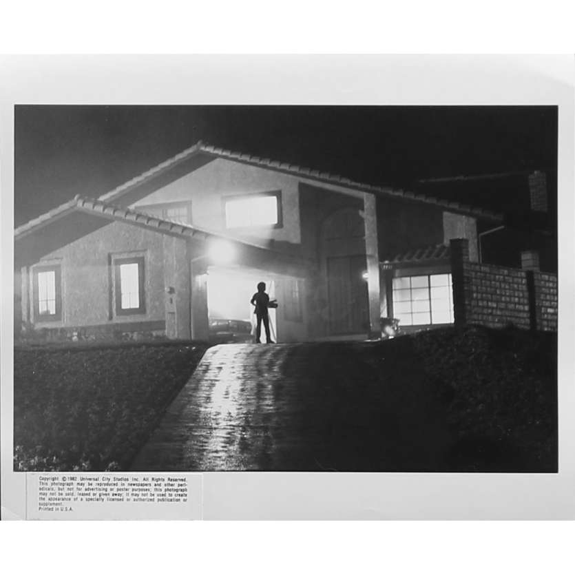 E.T. L'EXTRA-TERRESTRE Photo de presse N09 - 20x25 cm. - 1982 - Dee Wallace, Steven Spielberg