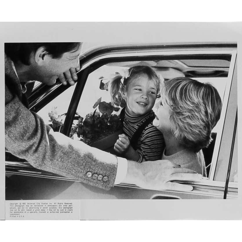 E.T. L'EXTRA-TERRESTRE Photo de presse N16 - 20x25 cm. - 1982 - Dee Wallace, Steven Spielberg