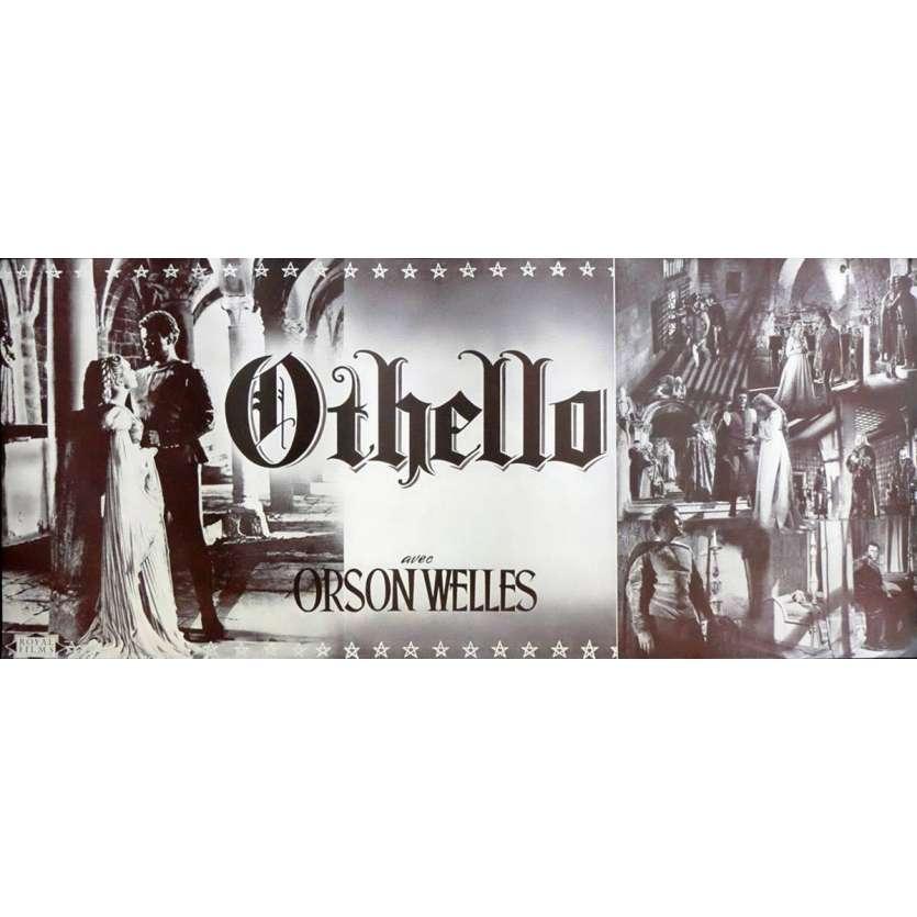 OTHELLO Synopsis 27x62 - 1952 - , Orson Welles