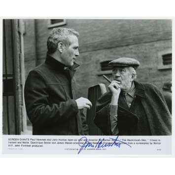 THE MACKINTOSH MAN Original Signed Photo - 8x10 in. - 1973 - John Huston, Paul Newman
