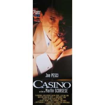 CASINO Affiche de film Mod C - 60x160 cm. - 1995 - Robert de Niro, Martin Scorsese
