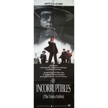 LES INCORRUPTIBLES Affiche de film - 60x160 cm. - 1987 - Kevin Costner, Brian de Palma