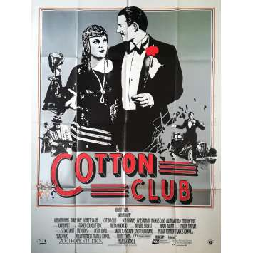 COTTON CLUB Affiche de film - 120x160 cm. - 1984 - Richard Gere, Francis Ford Coppola