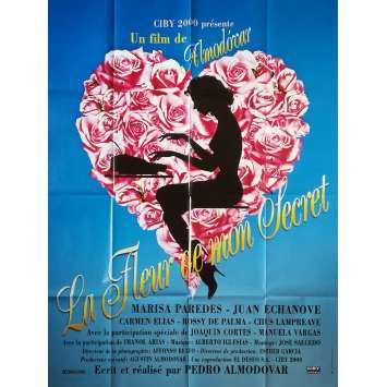 THE FLOWER OF MY SECRET Original Movie Poster - 47x63 in. - 1995 - Pedro Almodovar, Marisa Paredes