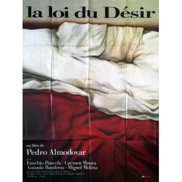 LA LOI DU DESIR Affiche de film - 120x160 cm. - 1987 - Carmen Maura, Pedro Almodovar