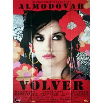 VOLVER Affiche de film - 120x160 cm. - 2006 - Penelope Cruz, Pedro Almodovar