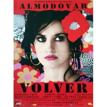 VOLVER Affiche de film - 40x60 cm. - 2006 - Penelope Cruz, Pedro Almodovar