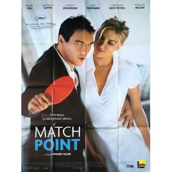 MATCHPOINT Affiche de film - 120x160 cm. - 2005 - Scarlett Johansson, Woody Allen