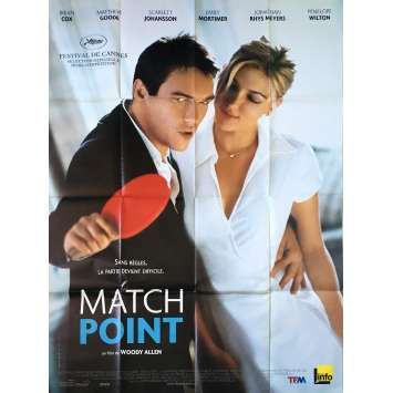 MATCHPOINT Original Movie Poster - 47x63 in. - 2005 - Woody Allen, Scarlett Johansson