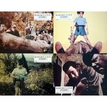 MAIS QUI A TUE HARRY Photos de film x4 - 21x30 cm. - R1980 - Shirley MacLaine, Alfred Hitchcock