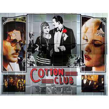 COTTON CLUB Affiche de film - 400x300 cm. - 1984 - Richard Gere, Francis Ford Coppola