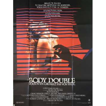 BODY DOUBLE Original Movie Poster - 47x63 in. - 1984 - Brian de Palma, Melanie Griffith