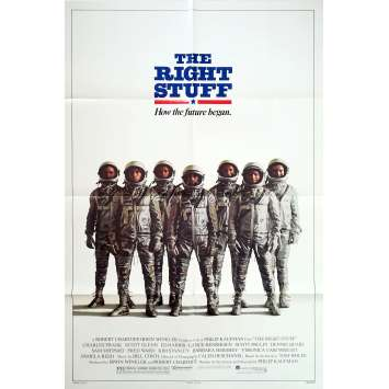 THE RIGHT STUFF Original Movie Poster Adv. - 27x40 in. - 1983 - Philip Kaufman, Sam Sheppard