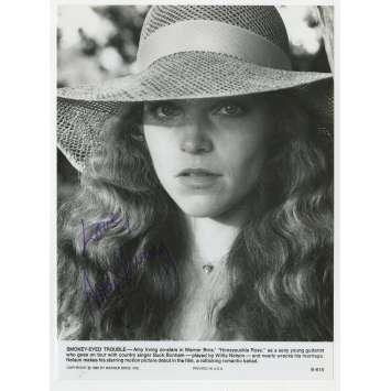 HONEYSUCKLE ROSE Original Signed Photo - 8x10 in. - 1980 - Jerry Schwartzberg, Willie Nelson