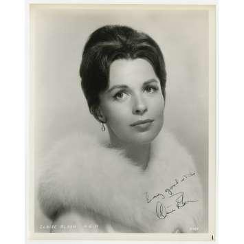 CLAIRE BLOOM Photo signée - 20x25 cm. - 1960'S - 0, 0