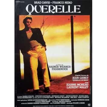 QUERELLE Original Movie Poster - 15x21 in. - 1982 - R. W. Fassbinder, Brad Davis