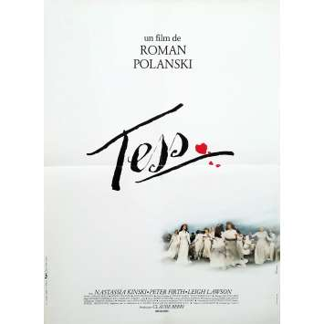 TESS Original Movie Poster - 15x21 in. - 1981 - Roman Polanski, Nastassja Kinski