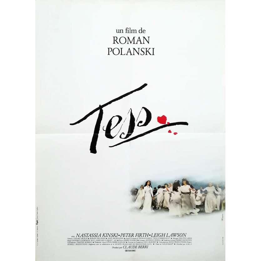 TESS Original Movie Poster - 15x21 in. - 1981 - Roman Polanski, Nastassja Kinski