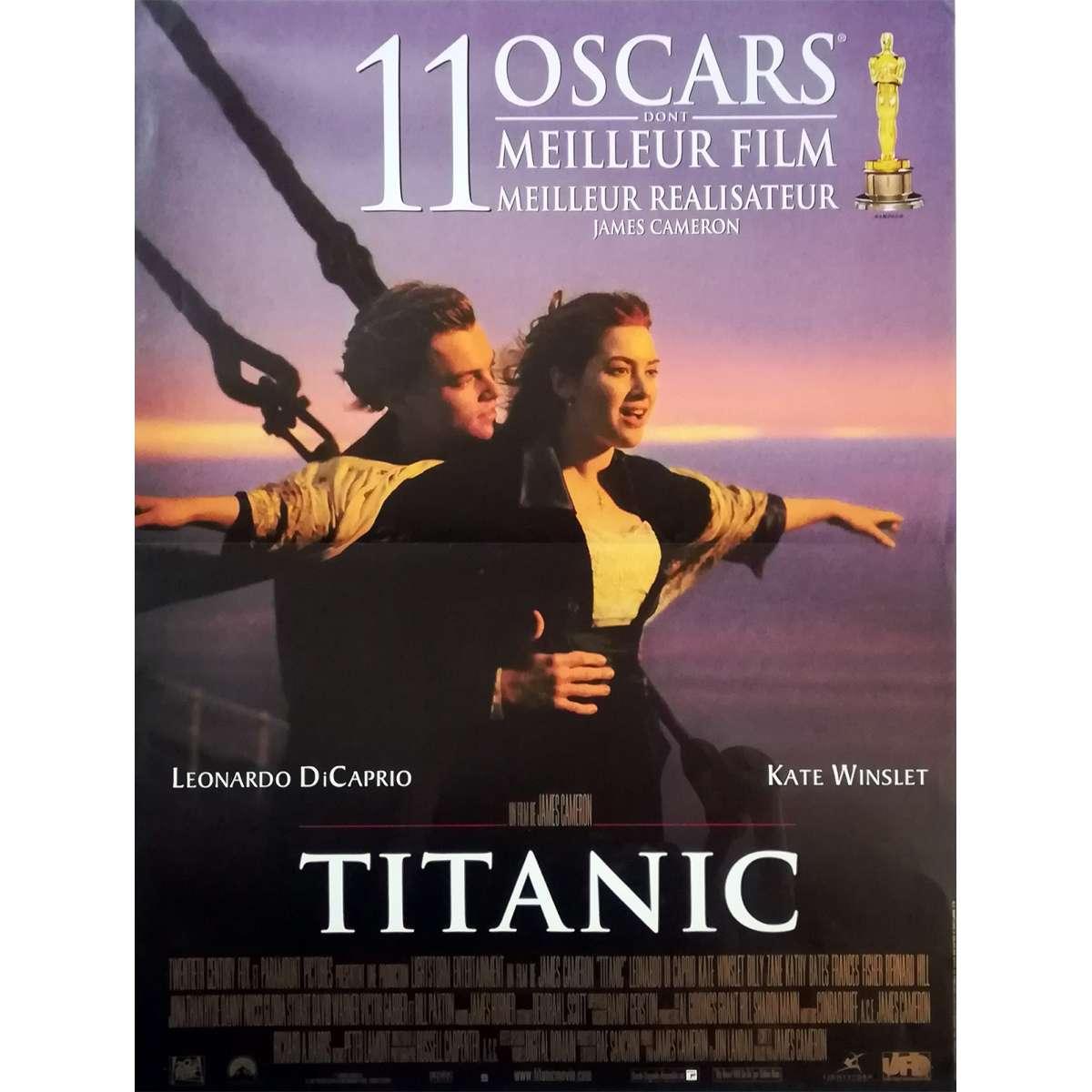 Titanic Movie Poster 15x21 In