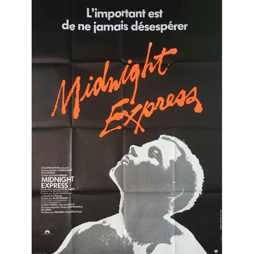 MIDNIGHT EXPRESS Movie Poster 47x63 in. French - 1978 - Alan Parker, Brad Davis