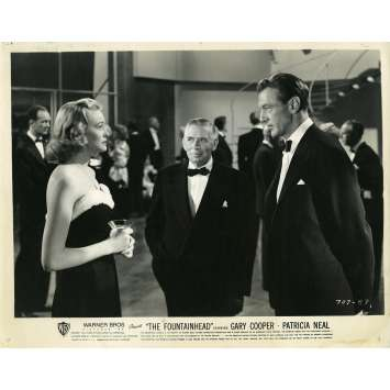LE REBELLE Photo de presse N01 - 20x25 cm. - 1949 - Gary Cooper, King Vidor