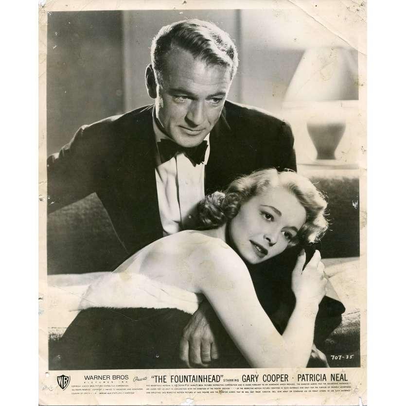 LE REBELLE Photo de presse N02 - 20x25 cm. - 1949 - Gary Cooper, King Vidor