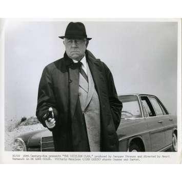 LE CLAN DES SICILIENS Photo de presse N03 - 20x25 cm. - 1969 - Lino Ventura, Henri Verneuil