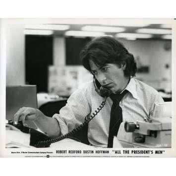 LES HOMMES DU PRESIDENT Photo de presse N10 - 20x25 cm. - 1976 - Dustin Hoffman, Robert Redford, Alan J. Pakula