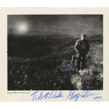 GEORGE O'BRIEN Photo signée N01 - 20x25 cm. - 1970'S - 0, 0