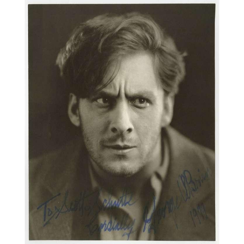 GEORGE O'BRIEN Photo signée N02 - 20x25 cm. - 1970'S - 0, 0