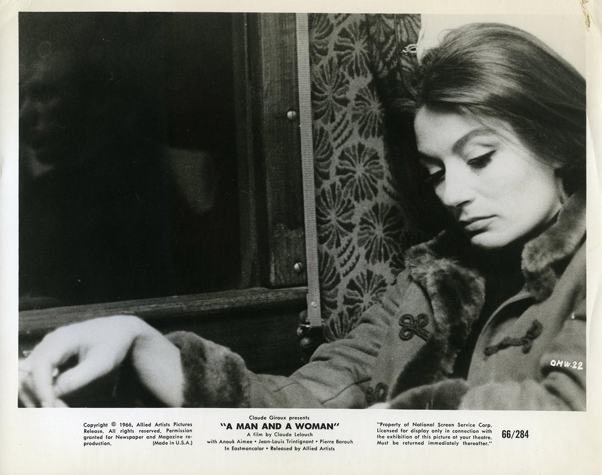 Anouk Aimée Photos man & a woman original movie still n05 - 8x10 in. - 1966 - claude lelouch,  anouk aim�e, jean-louis trintignant